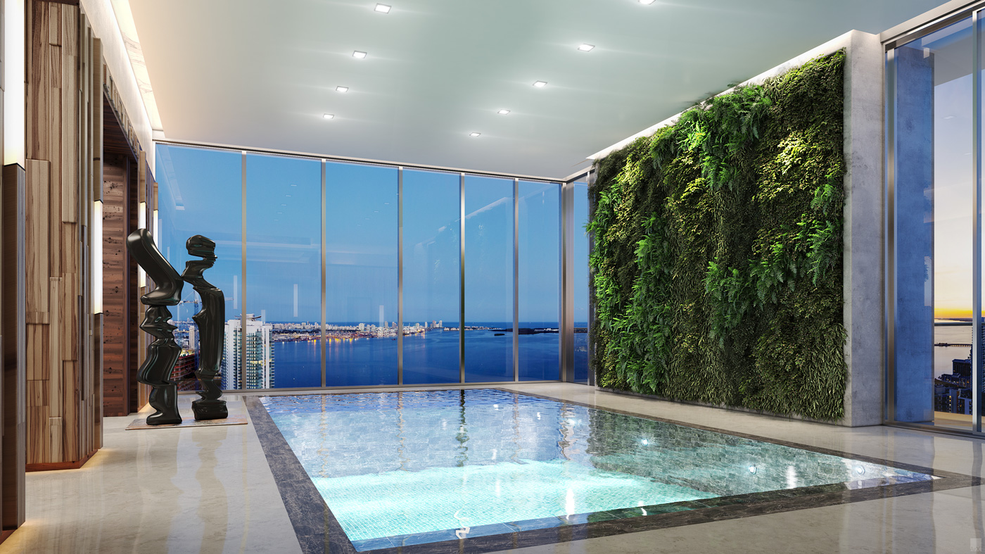 Echo Brickell $42 Million Miami Penthouse Designed by Carlos Ott