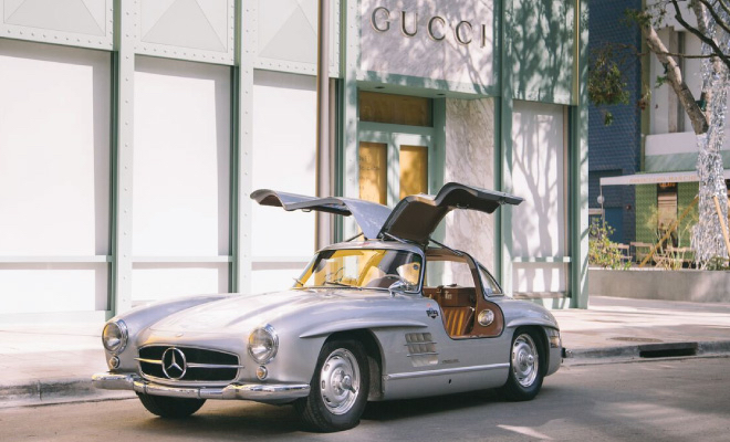 Post War sports, exotic and racing automobiles at Miami Design District Saturday, February 17  11 a.m. to 5 p.m.
